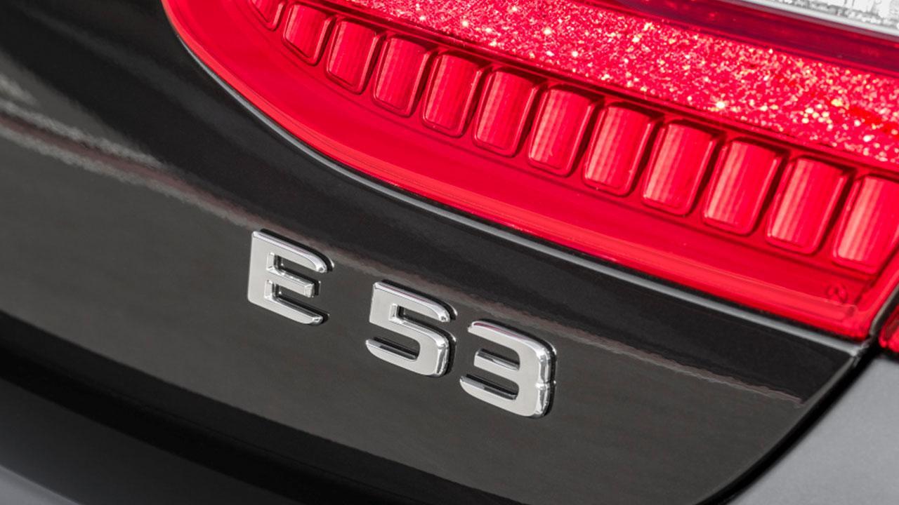 Mercedes-AMG E 53 4 MATIC+ - Schriftzug