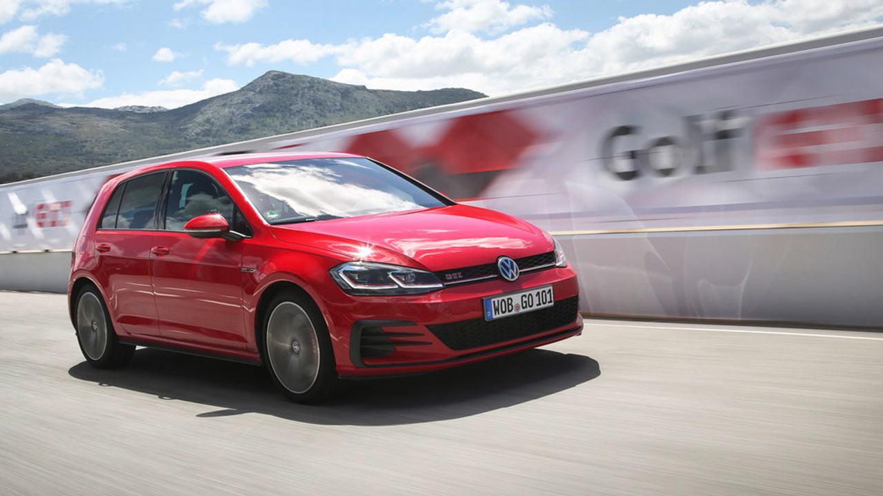 Volkswagen Golf GTI - auf der Rennstrecke