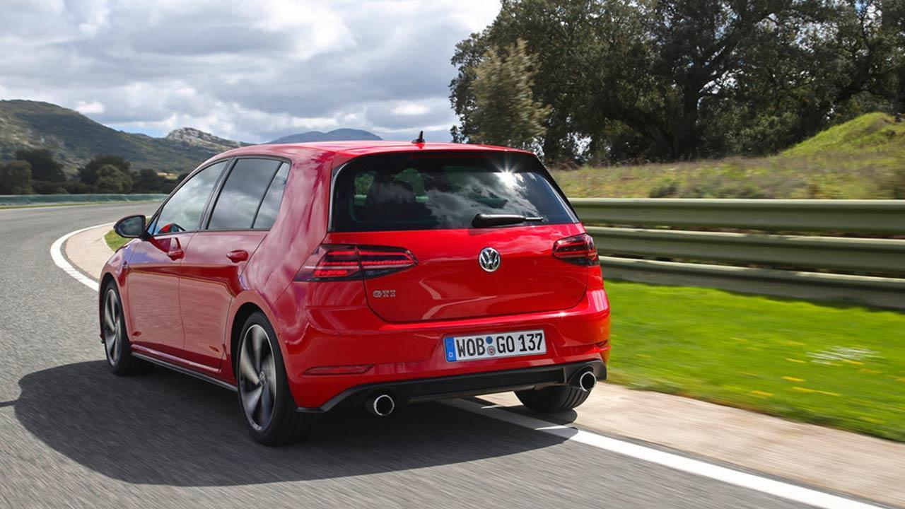 Volkswagen Golf GTI - Heckansicht