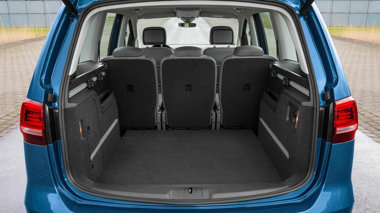 Volkswagen Sharan - Kofferraum