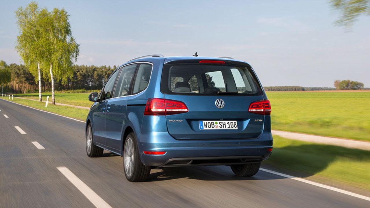 Volkswagen Sharan - Heckansicht