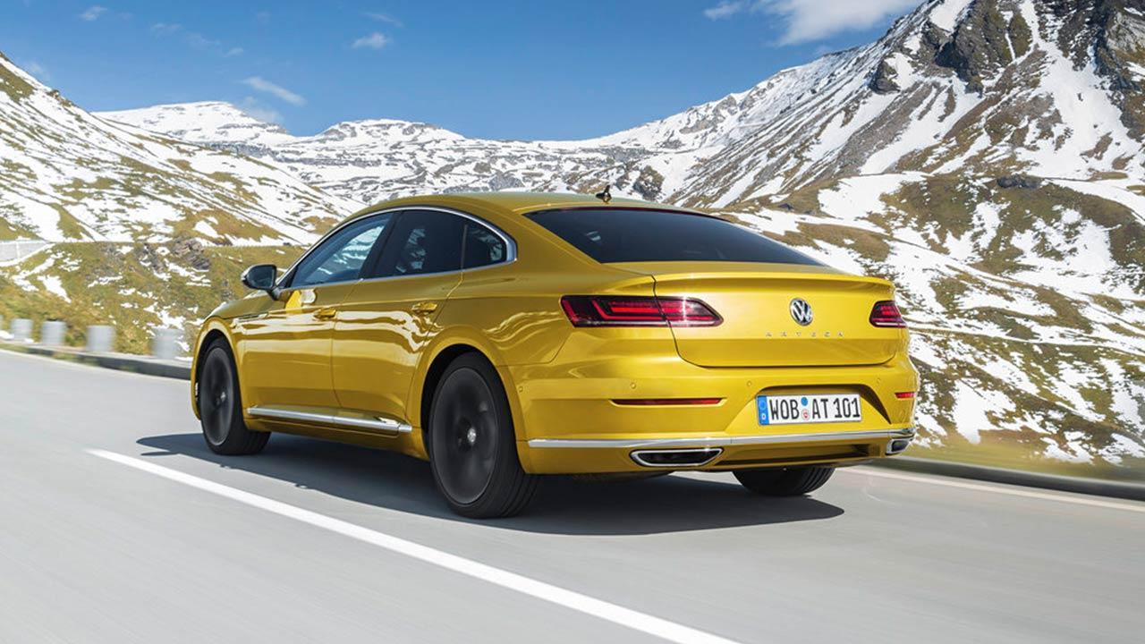 Volkswagen Arteon - Heckansicht