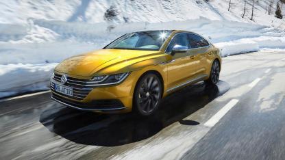 Volkswagen Arteon - in voller Fahrt