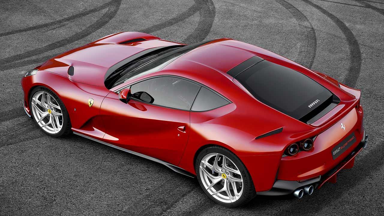 Ferrari 812 Superfast - Seitenansicht