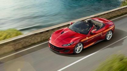 Ferrari Portofino Cabrio - Vogelperspektive