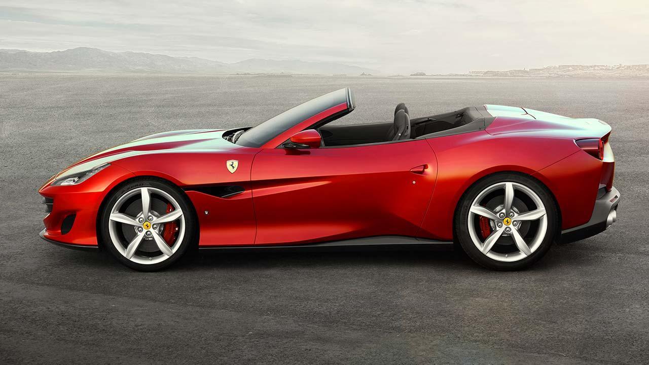 Ferrari Portofino Cabrio - Seitenansicht