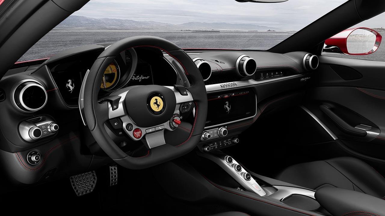 Ferrari Portofino Cabrio - Cockpit
