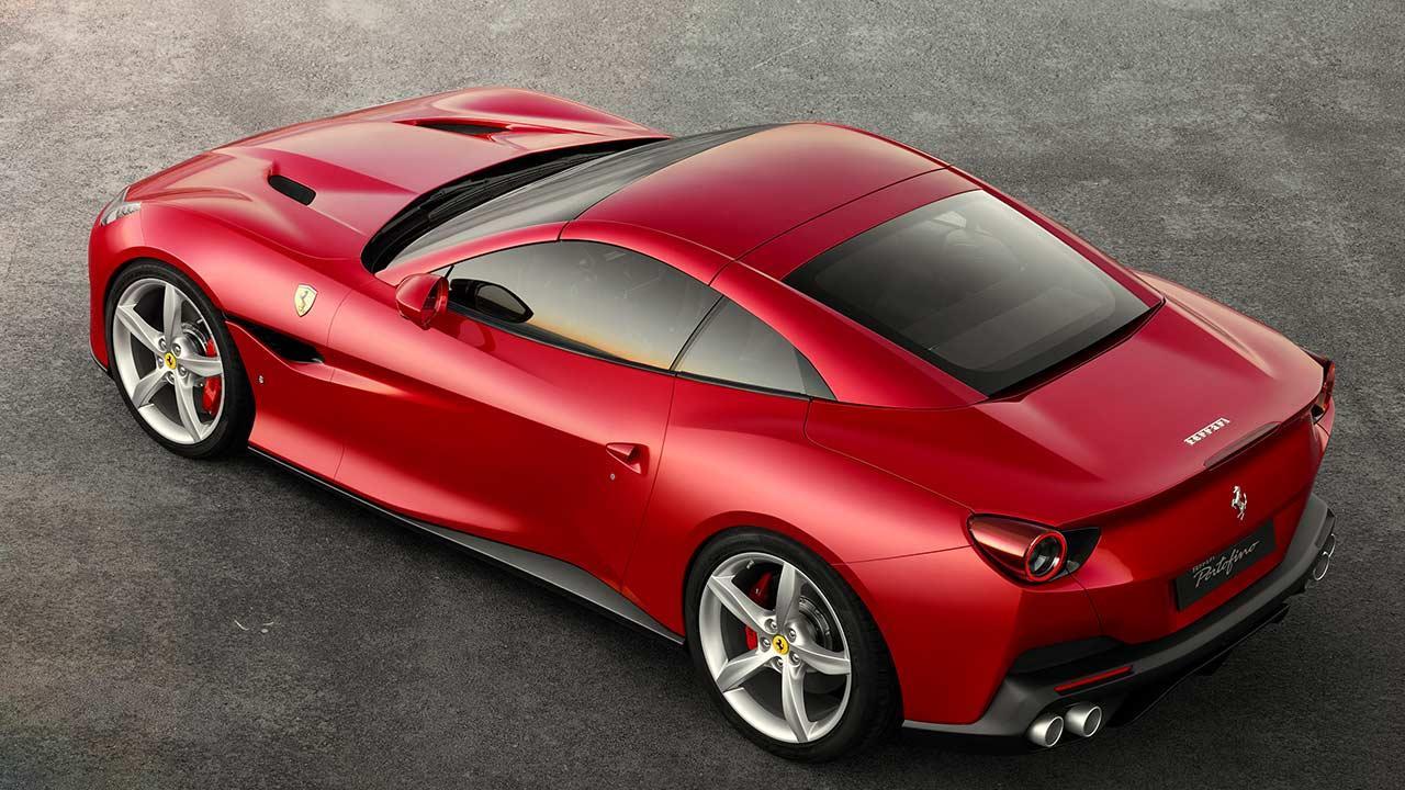 Ferrari Portofino Cabrio - Heckansicht