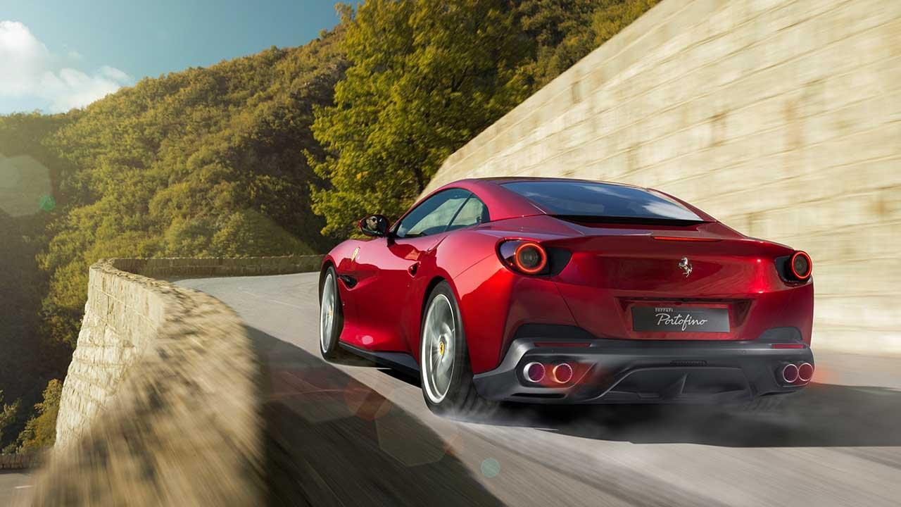 Ferrari Portofino Cabrio - in voller Fahrt
