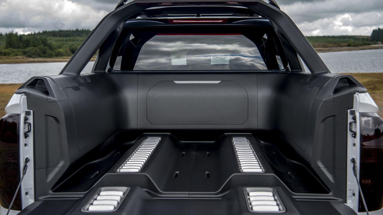 Nissan Navara - Ladefläche