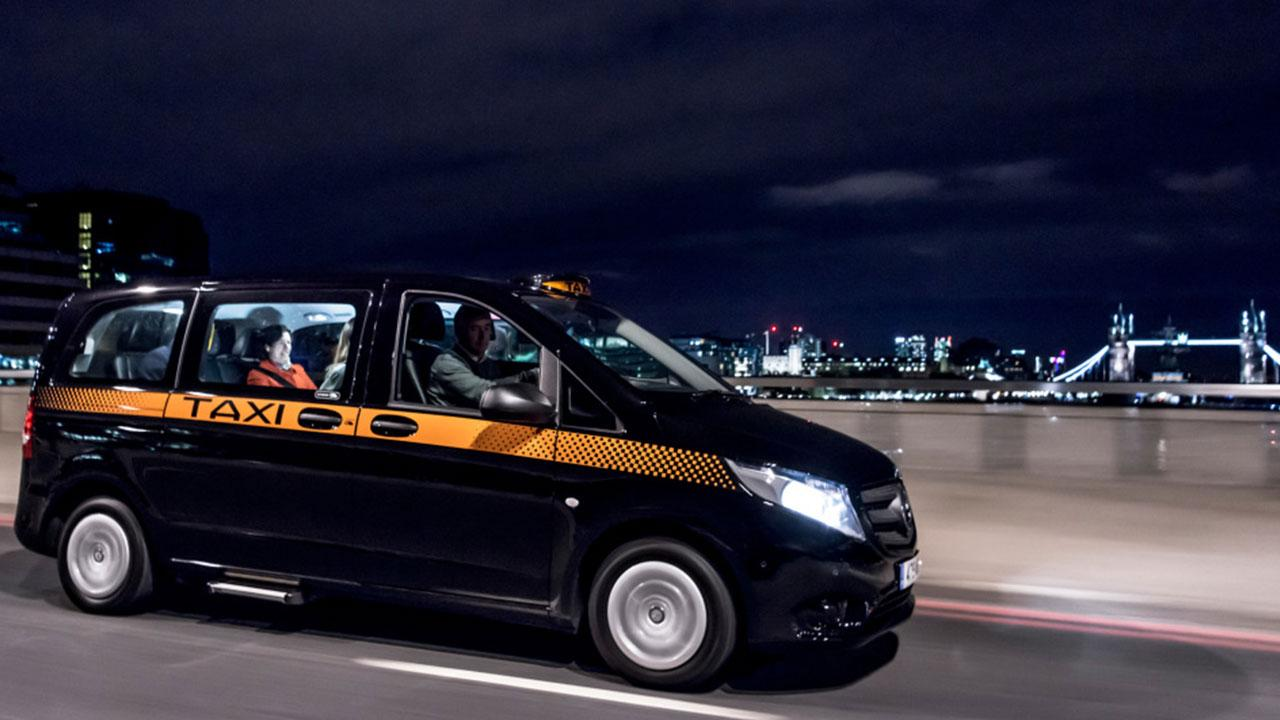 Mercedes Vito - als Taxi