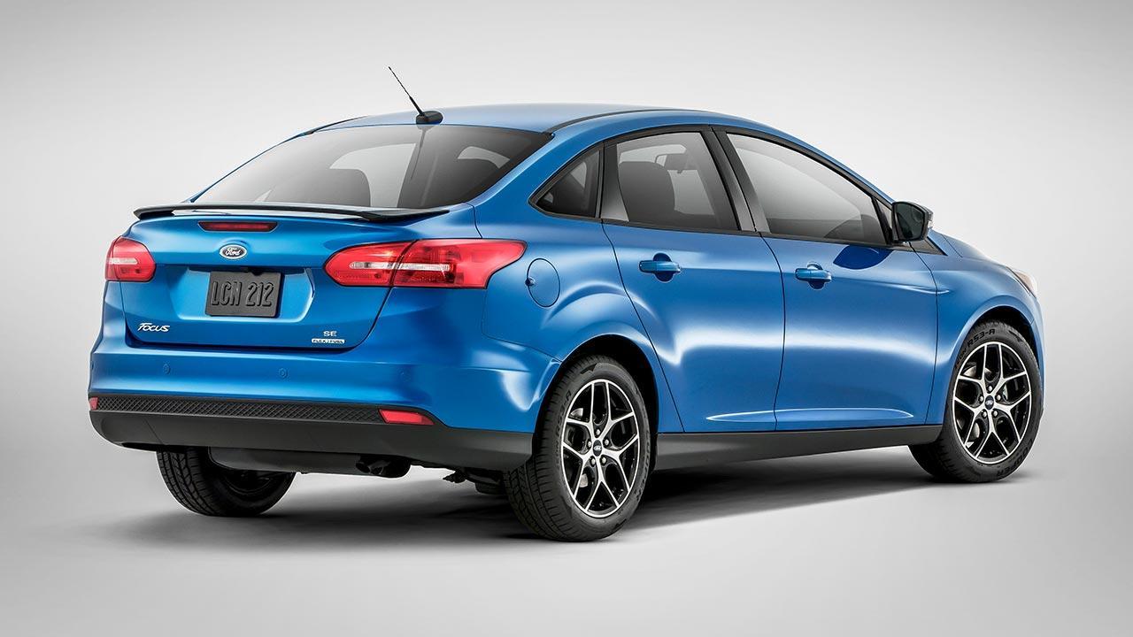 Ford Focus - Heckansicht