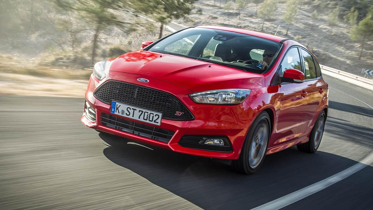 Ford Focus ST - in voller Fahrt