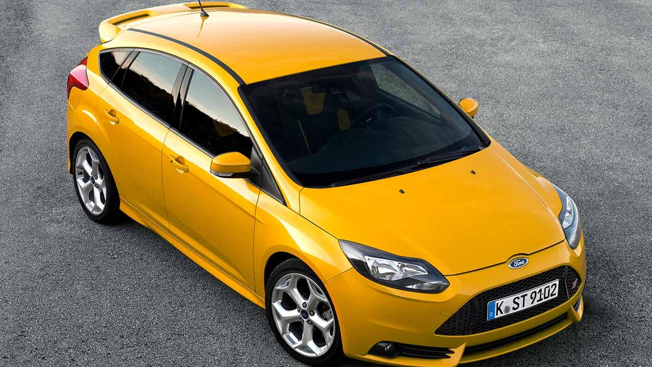 Ford Focus ST - in Gelb