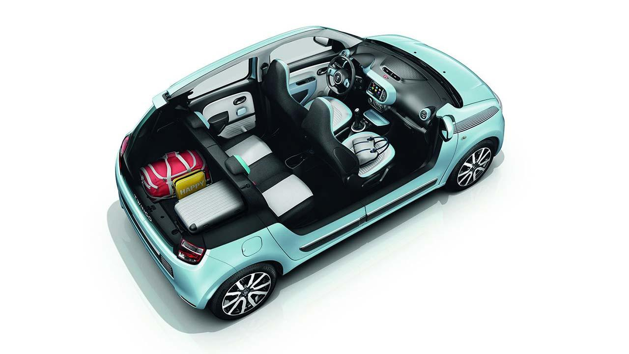 Renault Twingo - Modell ohne Dach