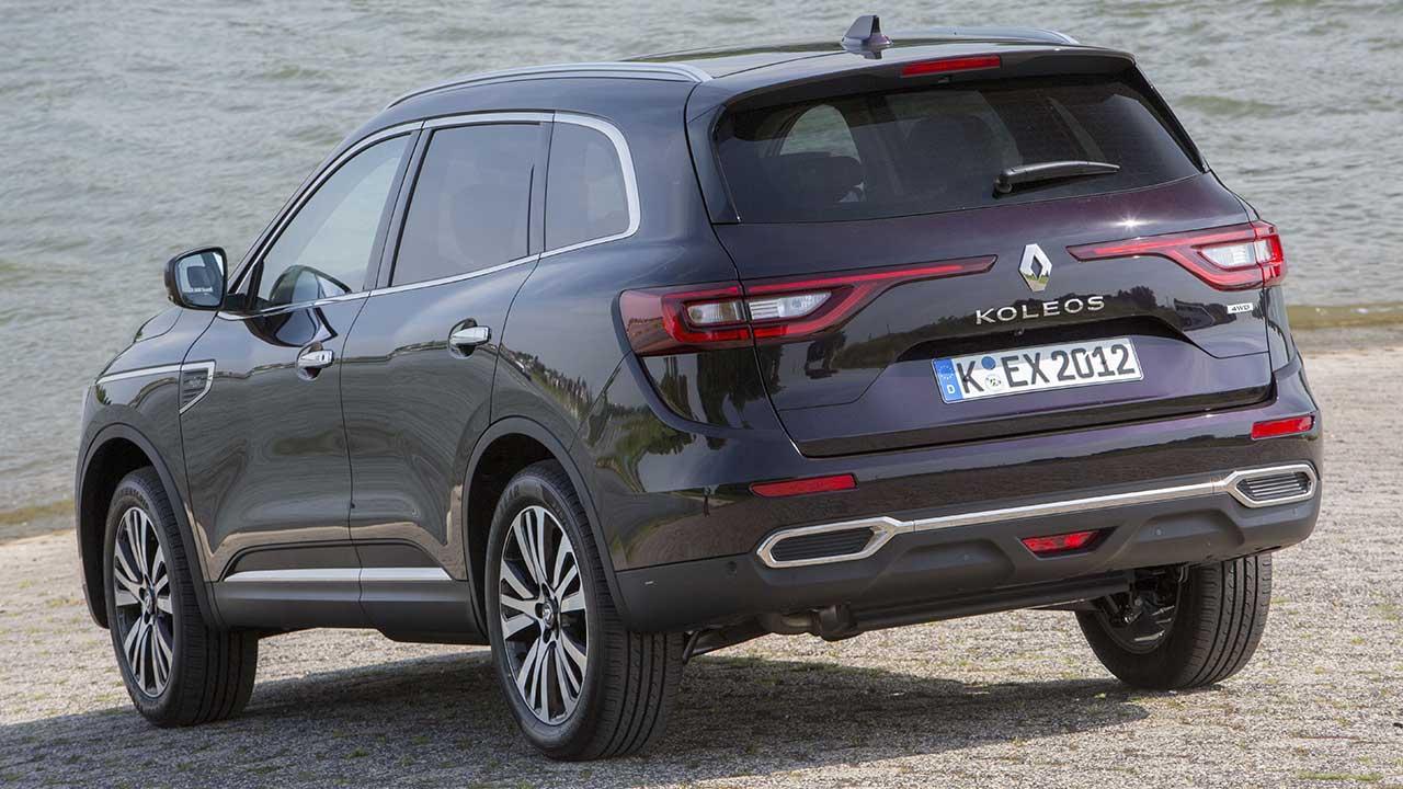 Renault Koleos - seitliche Heckansicht