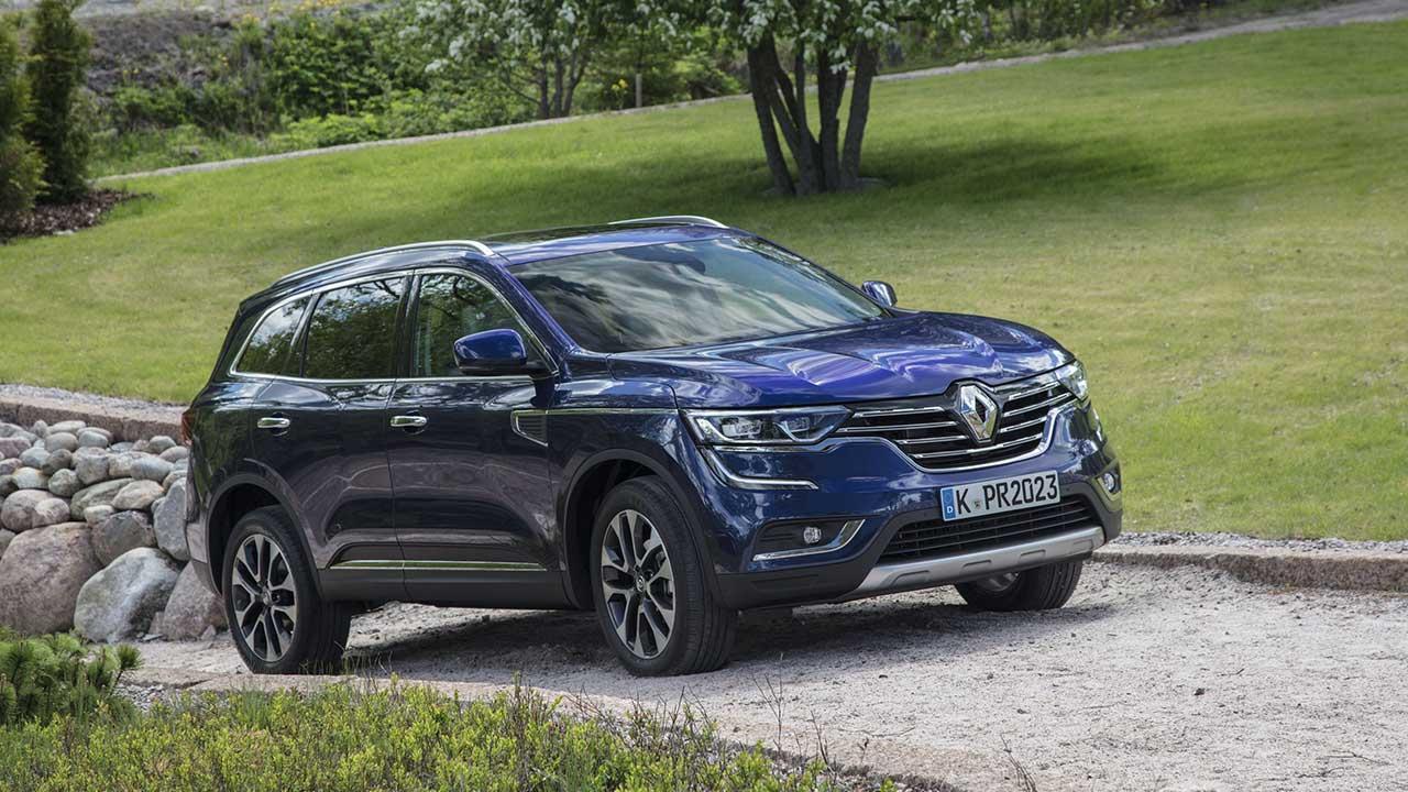 Renault Koleos - im Park
