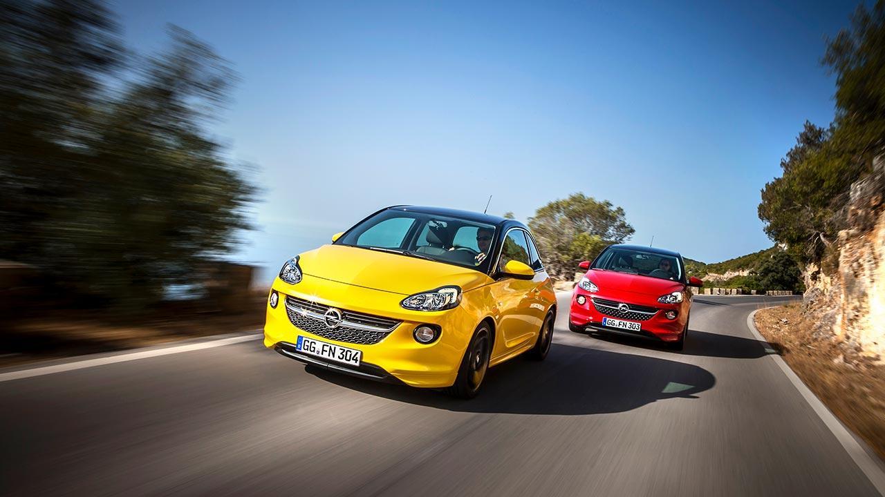 Opel Adam - 2 Modelle