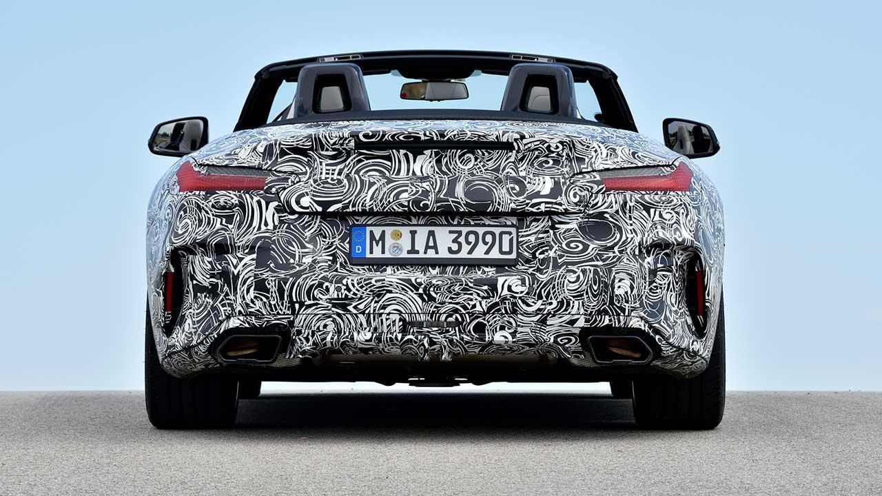 BMW Z4 2018 - Heckansicht