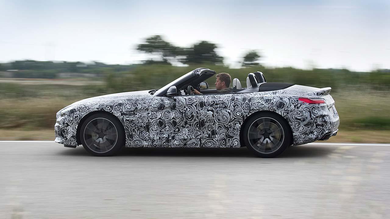 BMW Z4 2018 - Seitenansicht