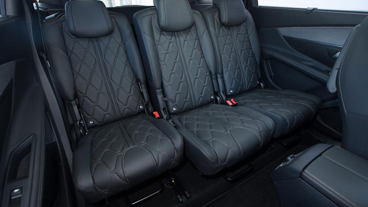 Peugeot 5008 - Rücksitze