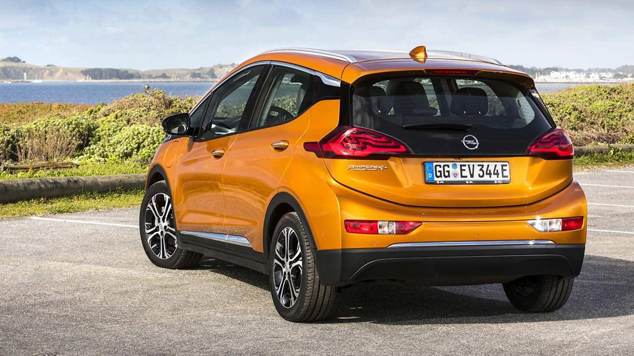 Opel Ampera-e - Heckansicht