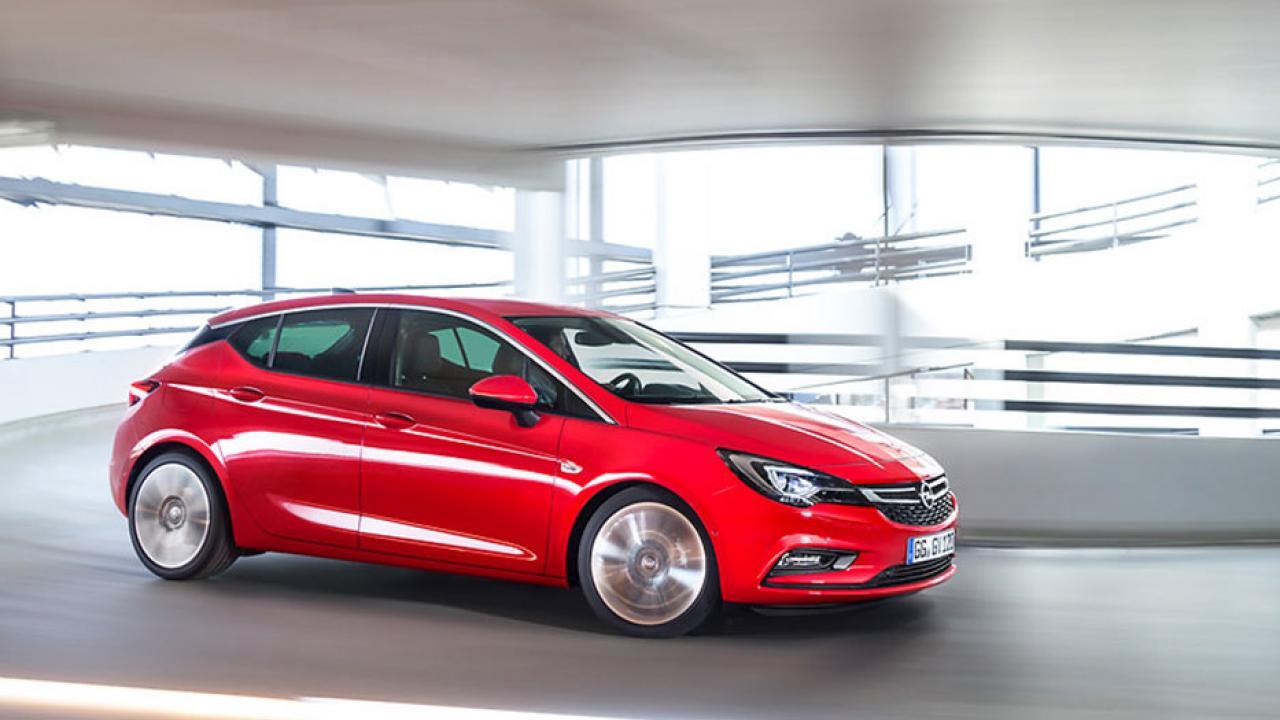 Opel Astra - Seitenansicht