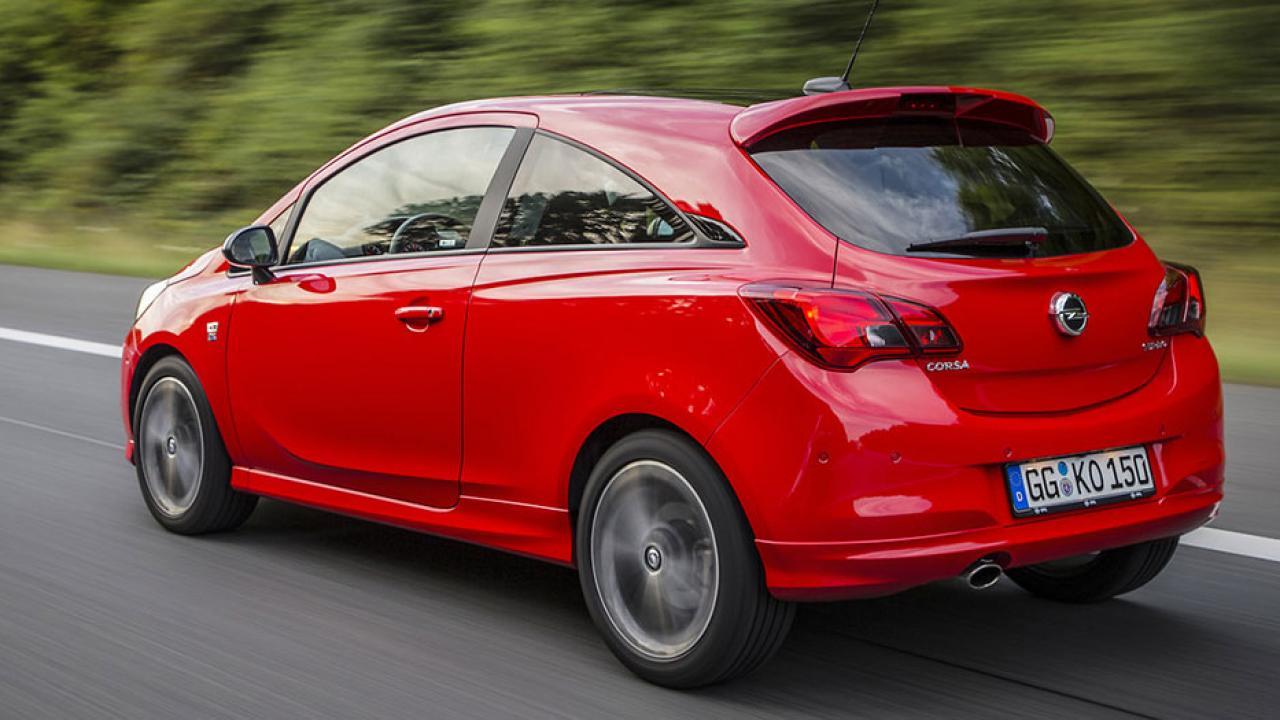 Opel Corsa - Heckansicht