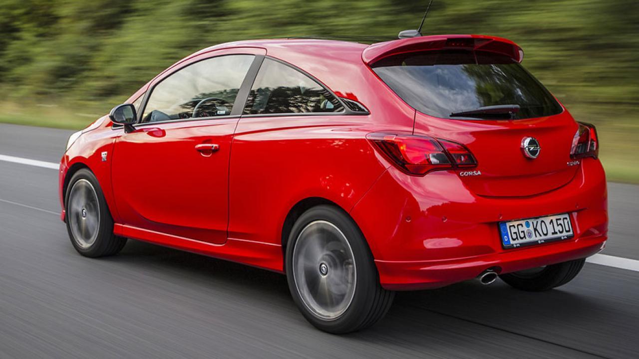 Opel Corsa - Seitenansicht