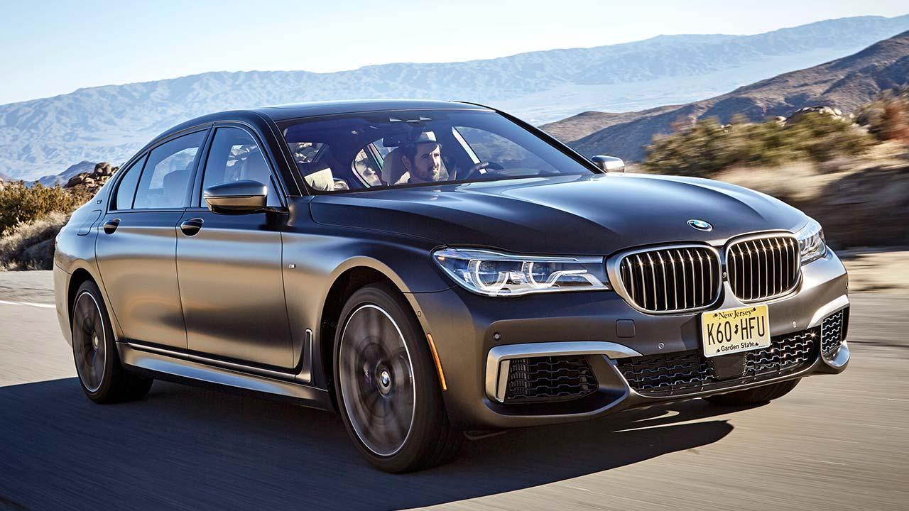 BMW M760Li xDrive 2017 - Frontansicht