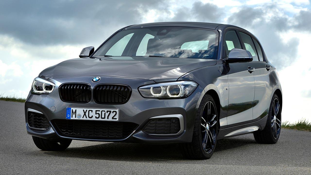 BMW 1er 5-Türer - von vorne