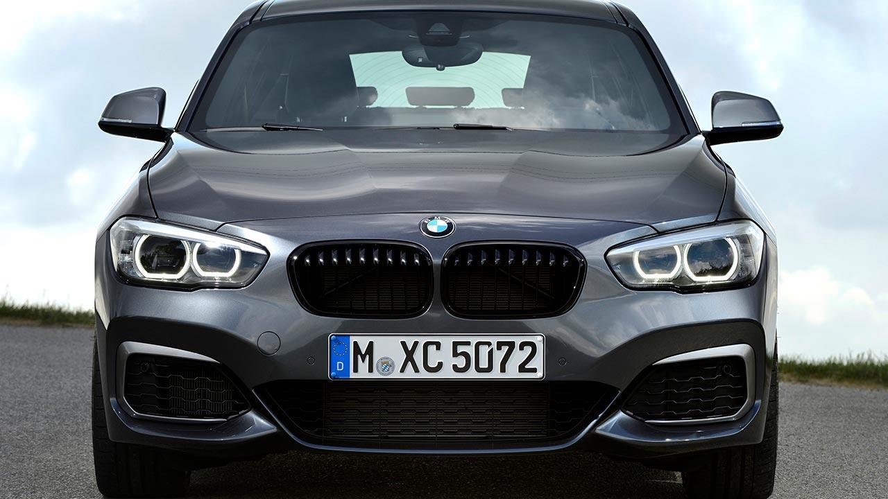 BMW 1er 5-Türer - Frontansicht