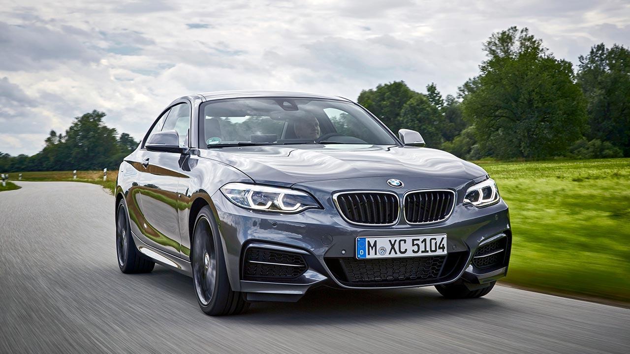 BMW 2er Coupé - Frontansicht