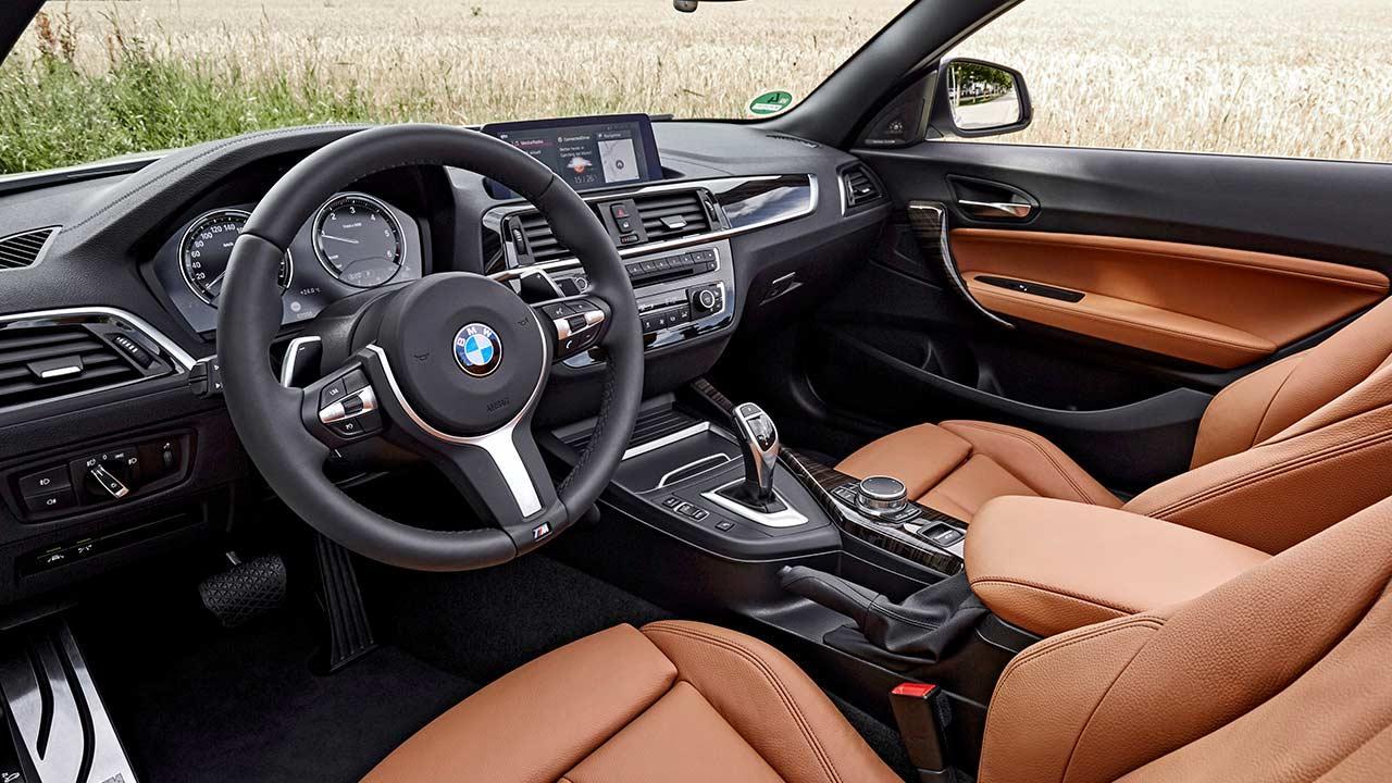 BMW 2er Cabrio - Cockpit