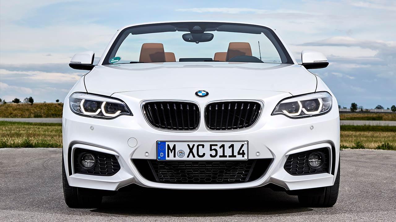 BMW 2er Cabrio - Frontansicht