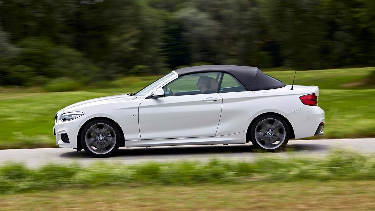 BMW 2er Cabrio - Seitenansicht