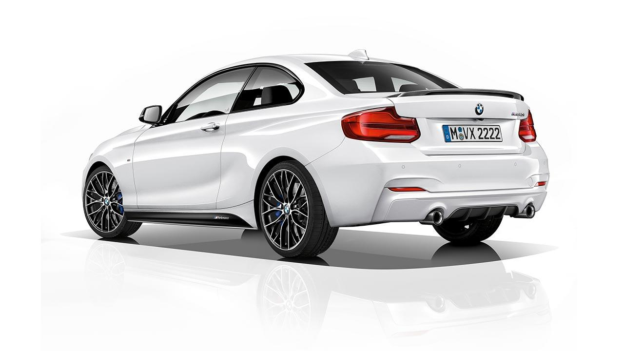 BMW 2er M240i - Heckansicht