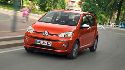 Volkswagen up! - in voller Fahrt