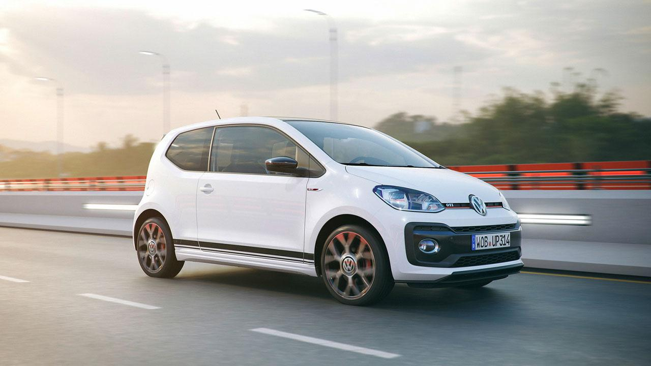 Volkswagen up! GTI - in voller Fahrt