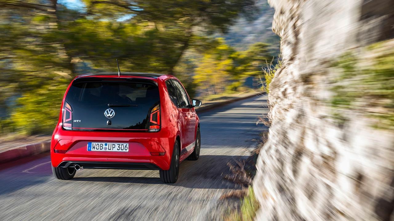 Volkswagen up! GTI - Heckansicht