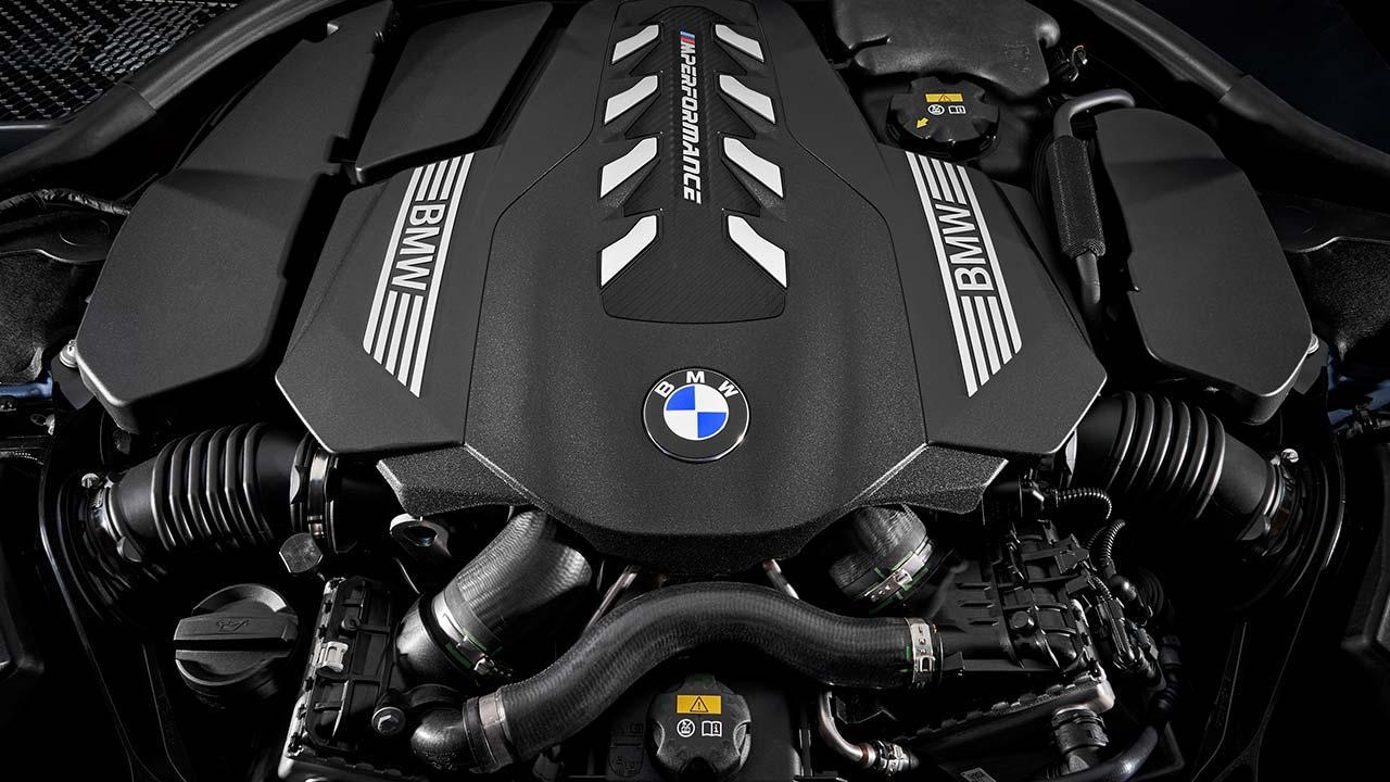 BMW 8er Coupé 2018 - Motor