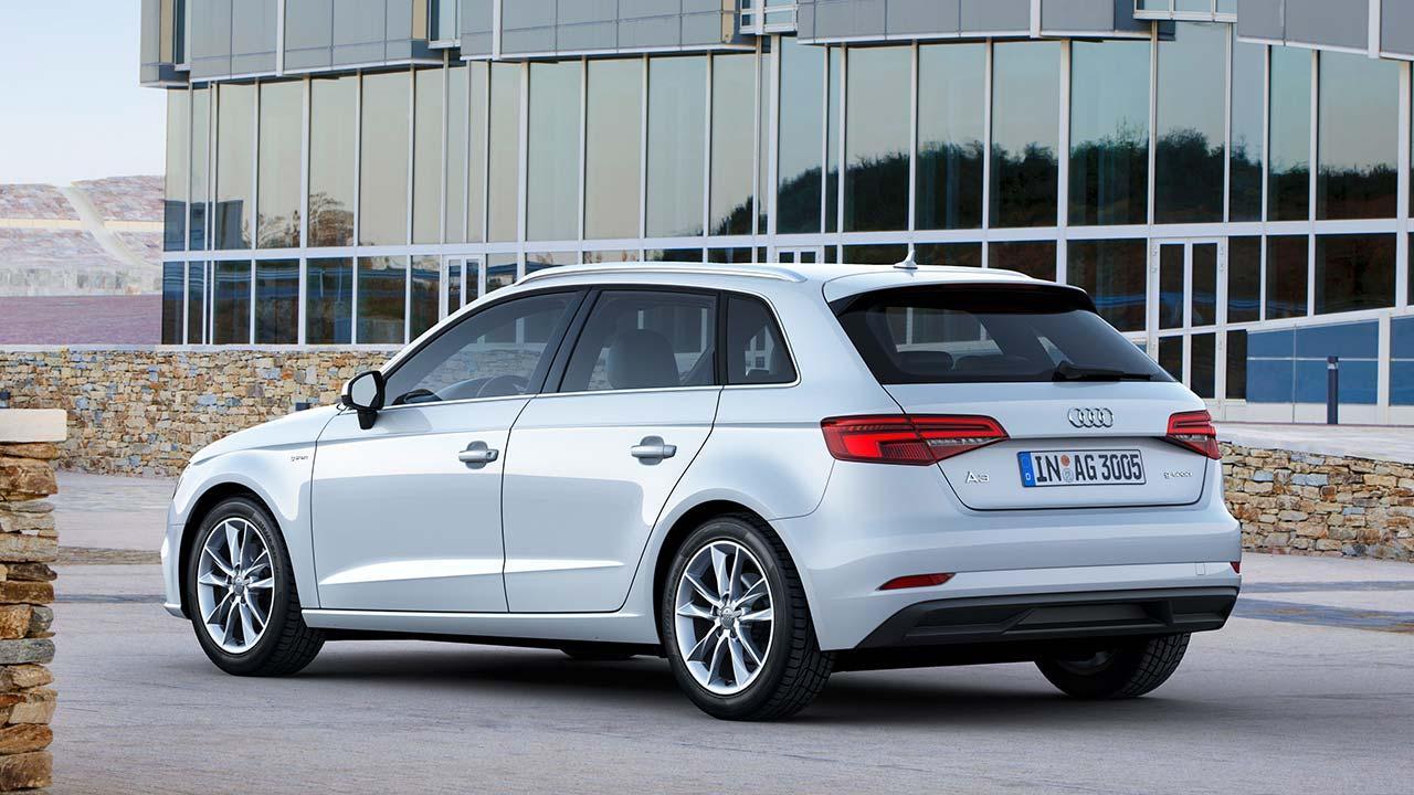 Audi A3 Sportback g-tron - Heckansicht
