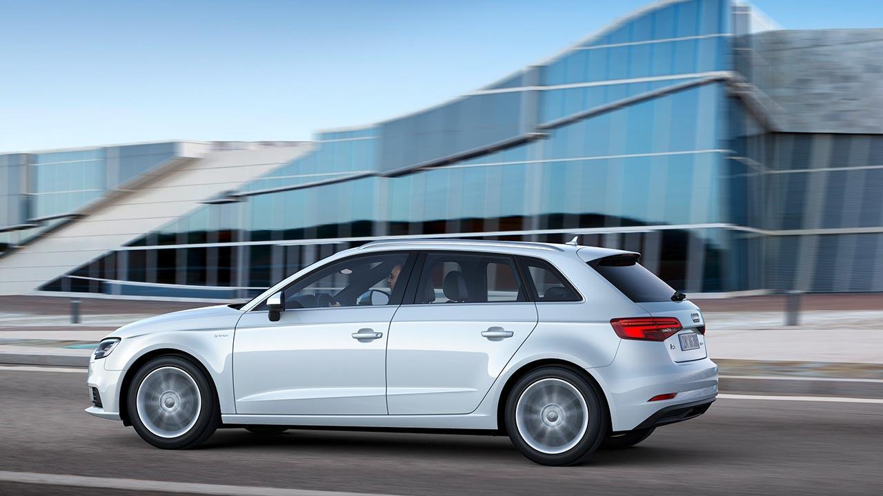 Audi A3 Sportback g-tron - Seitenansicht