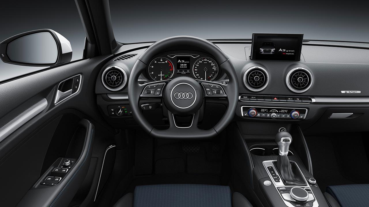 Audi A3 Sportback g-tron - Cockpit