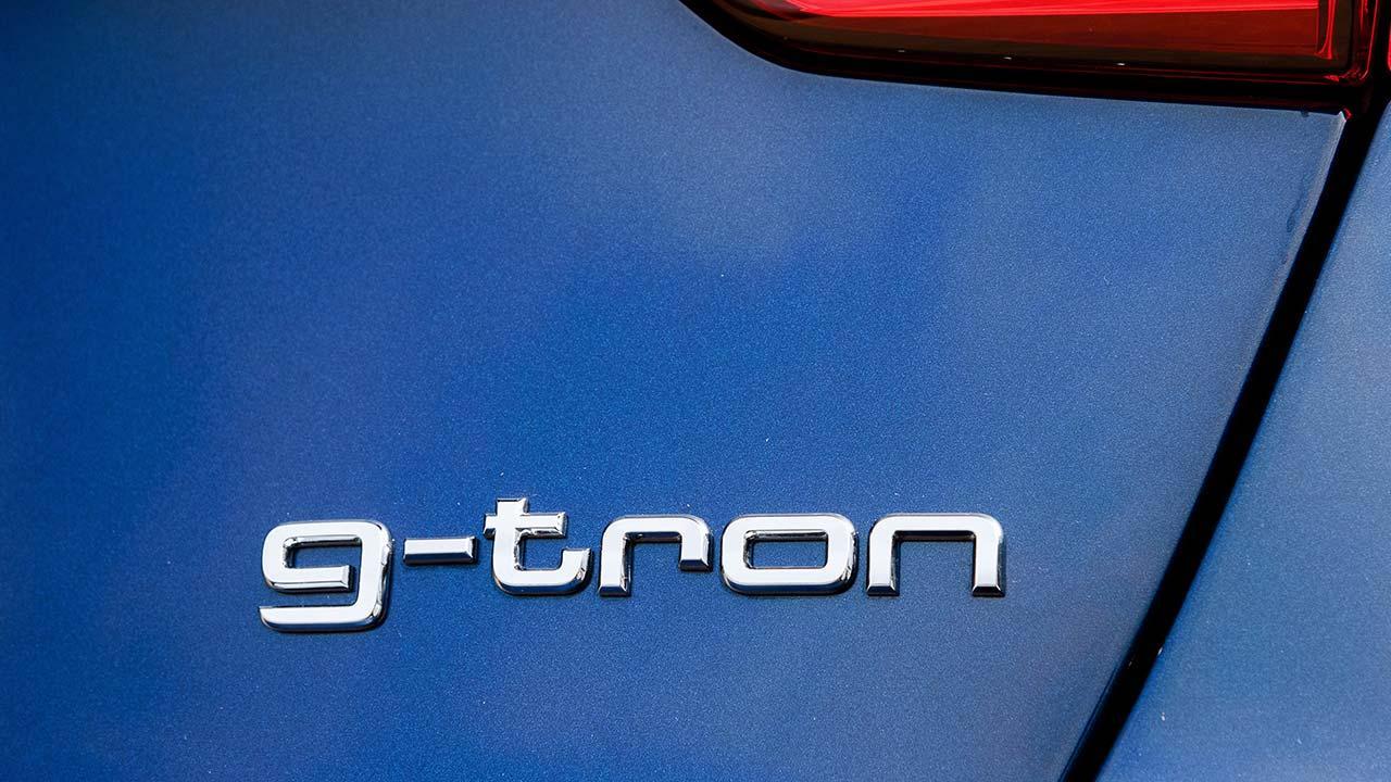 Audi A4 Avant g-tron - Schriftzug