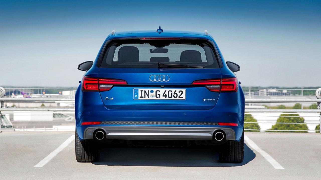 Audi A4 Avant g-tron - Heckansicht