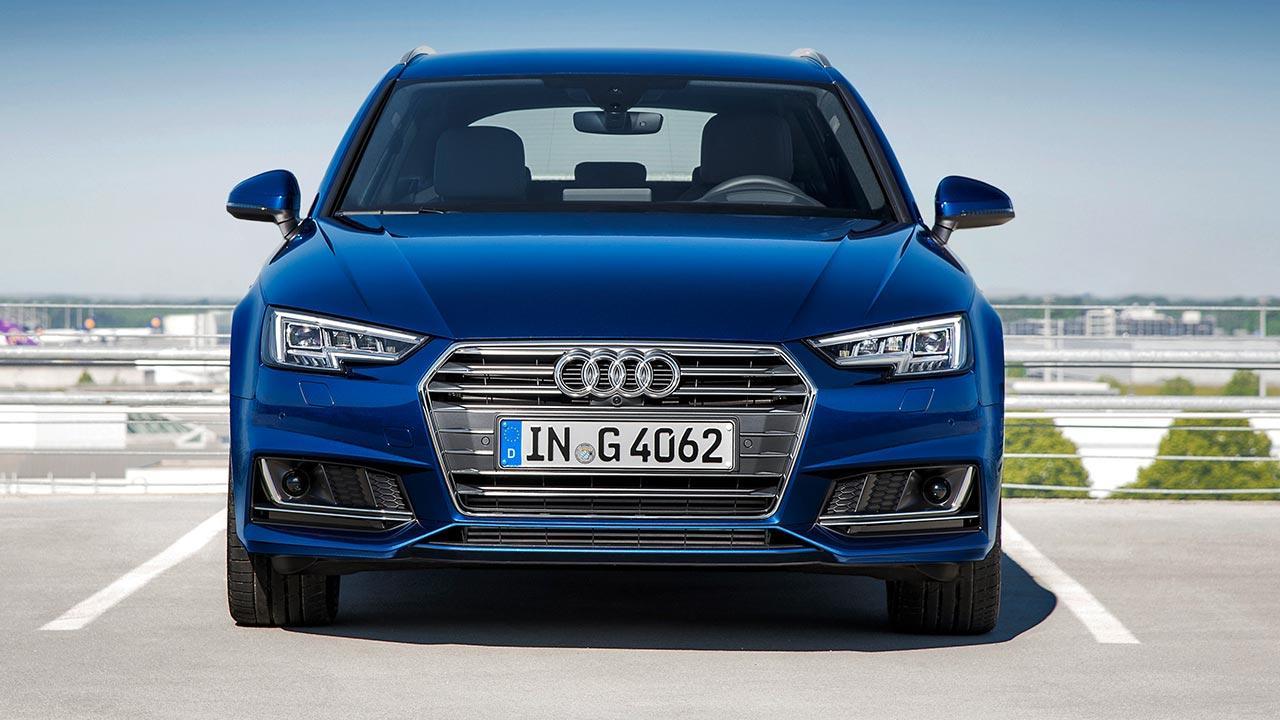 Audi A4 Avant g-tron - Frontansicht