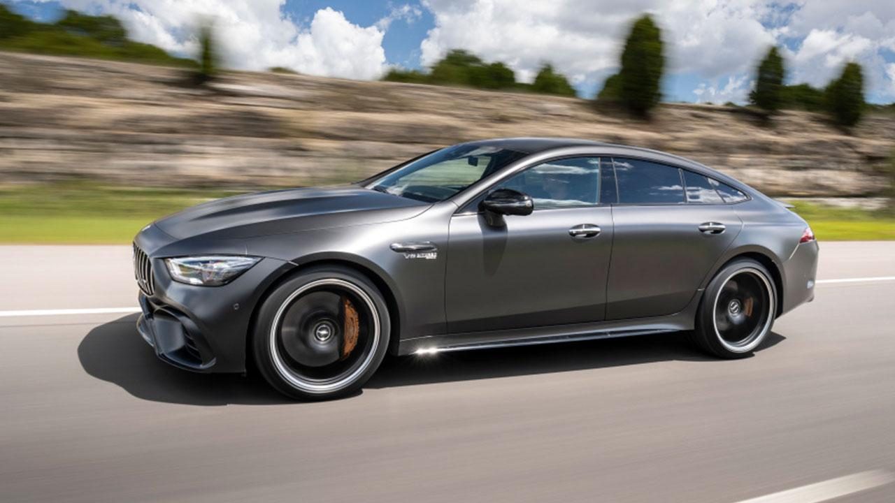 Mercedes-AMG GT 4-Türer Coupé - Seitenansicht