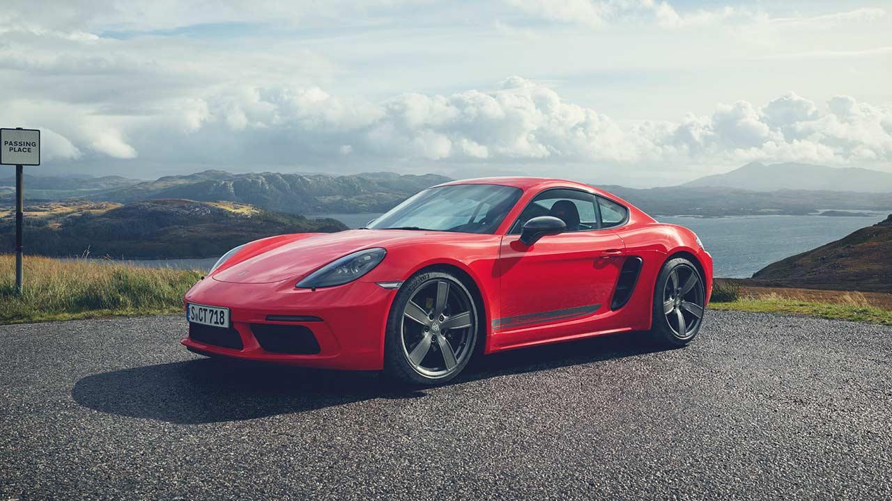 Porsche 718 Cayman T - Seitenansicht