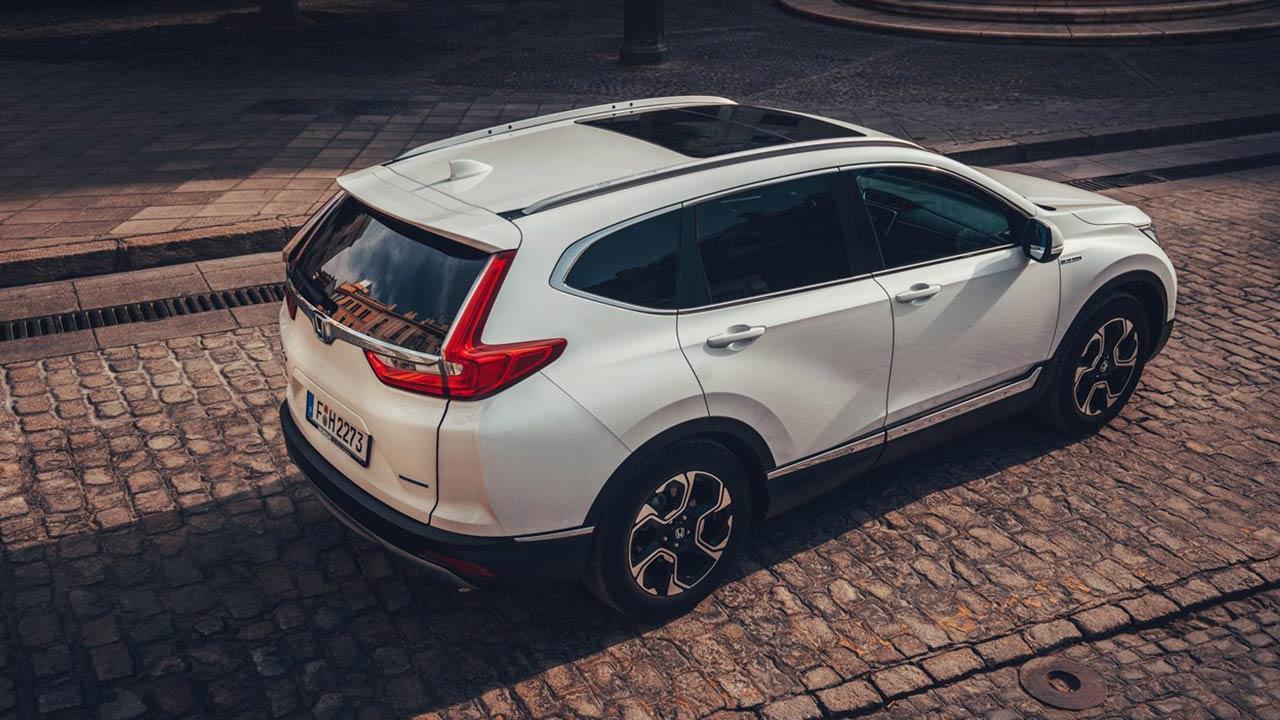 Honda CR-V Hybrid - Vogelperspektive
